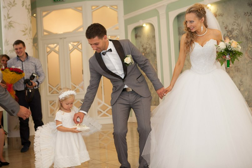 дети на свадьбе, ангел на свадьбе