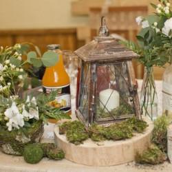 свадебный декор в природном стиле
