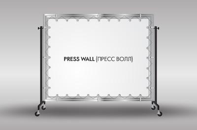 пресс вол на свадьбу
