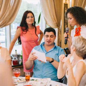 Застольный конкурс на свадьбе