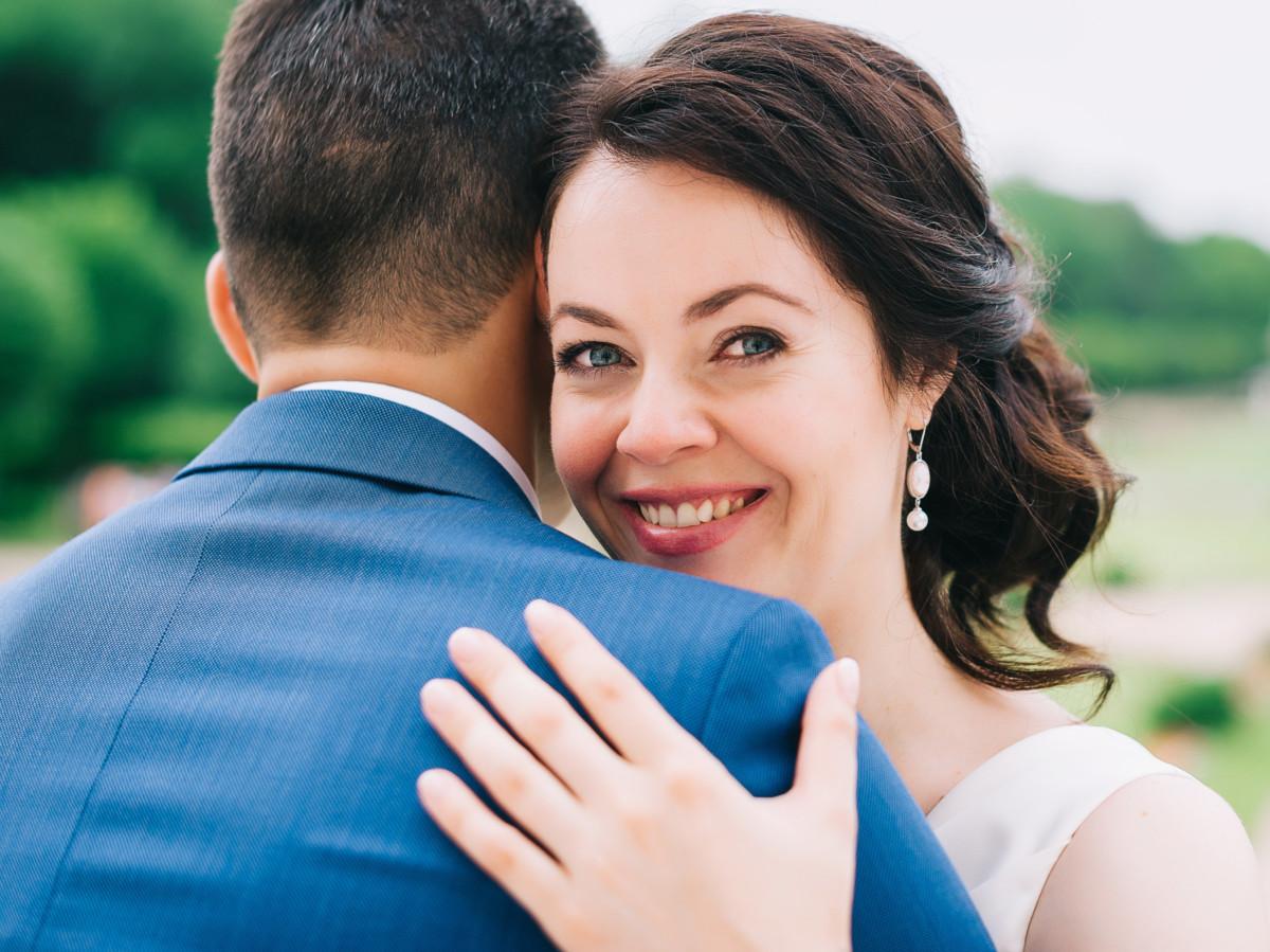 Синий костюм для жениха
